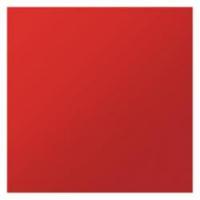 Декоративная панель ФП 180 Плейн червоний